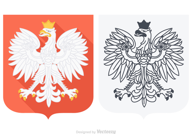 632x443 Du Vecteur Gratuit Free Vector Polish Eagle
