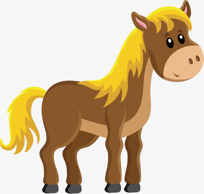 650x618 Brown Pony Vector, Hand, Golden Hair, Pony Png And Vector For Free