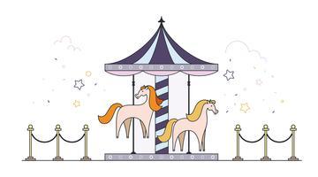 360x200 Pony Free Vector Art