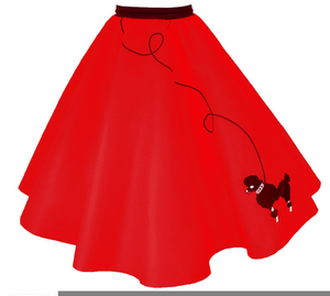 300x269 Free Poodle Skirt Clipart Free Images