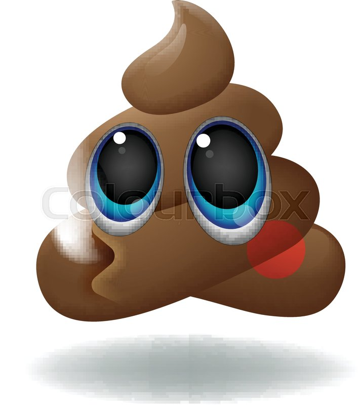 707x800 Pile Of Poo Emoji, Shit Icon, Smiling Face With Big Eyes, Symbol