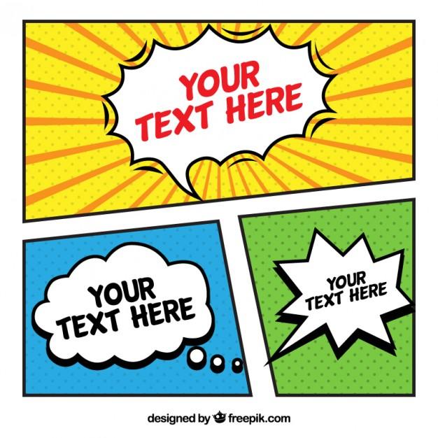 626x626 Pop Art Templates Nice Comic Template Vector Free Download Ideas