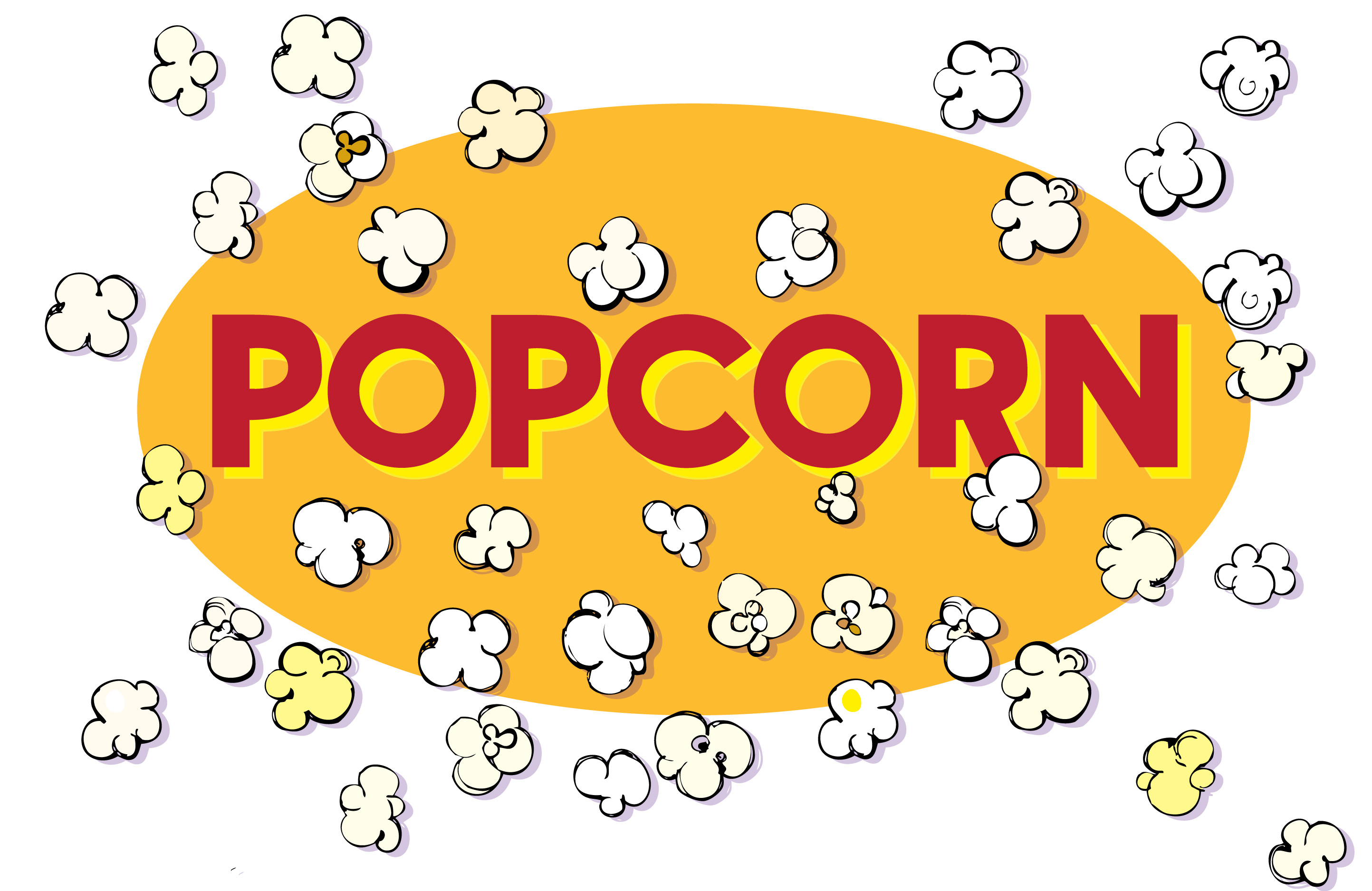 2887x1876 Popcorn Clipart Logo Free Collection Download And Share Popcorn