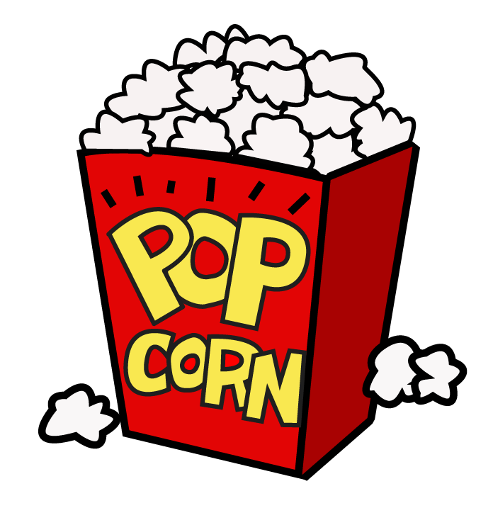 696x741 19 Popcorn Kernel Png Black And White Library Huge Freebie