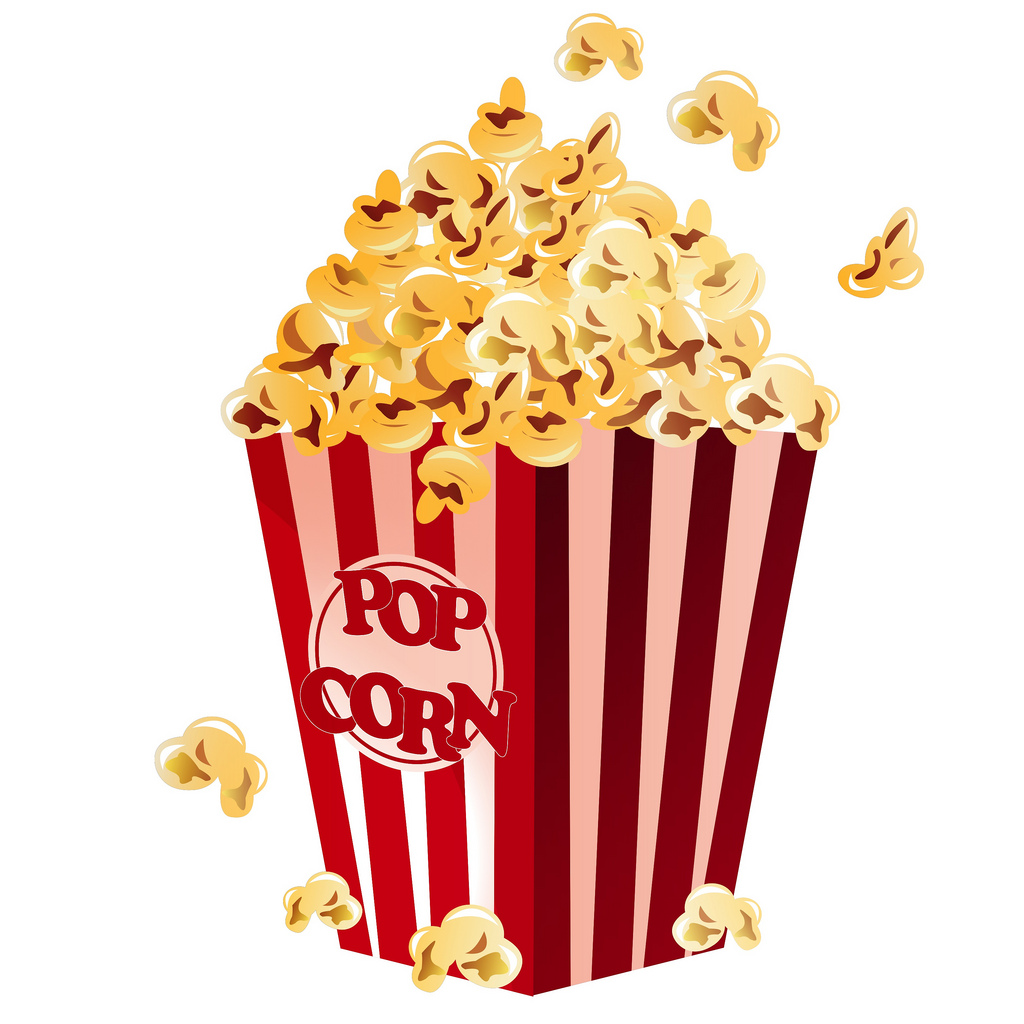 1024x1024 Popcorn Vector From Our Food Collection
