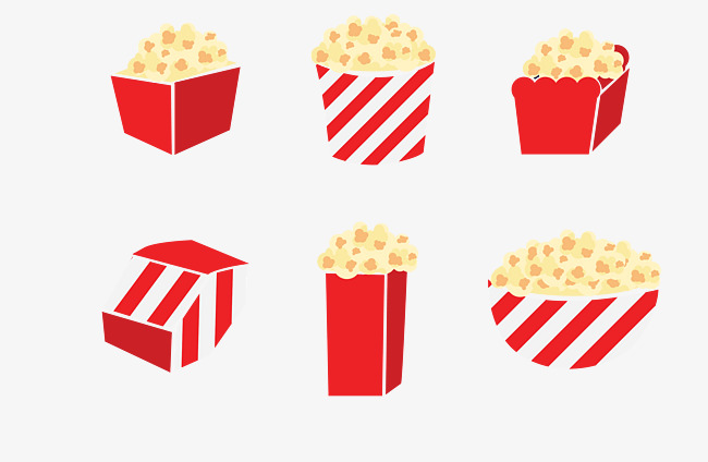 650x424 Vector Popcorn, Popcorn, Vector, Food Png And Vector For Free Download