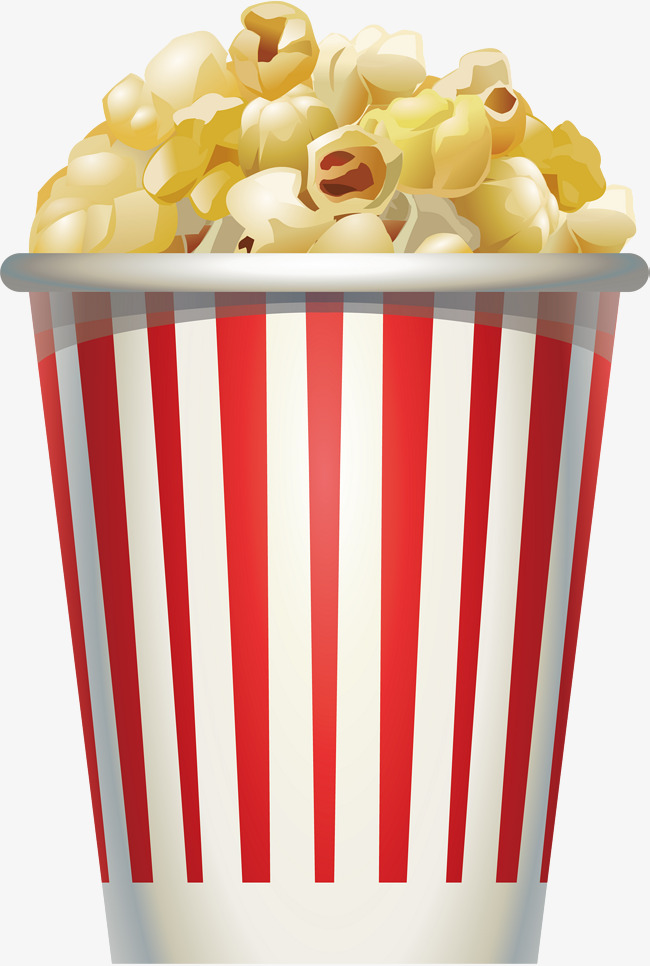 650x966 Cream Popcorn, Popcorn Vector, Vector Png, Popcorn Png And Vector