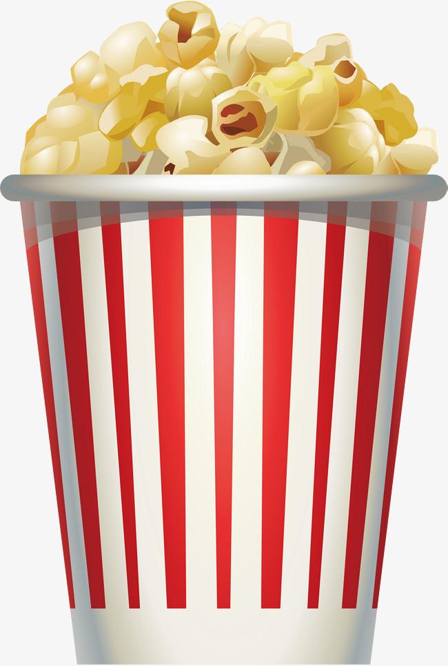 650x966 Cream Popcorn, Popcorn Vector, Vector Png, Popcorn Png And Vector