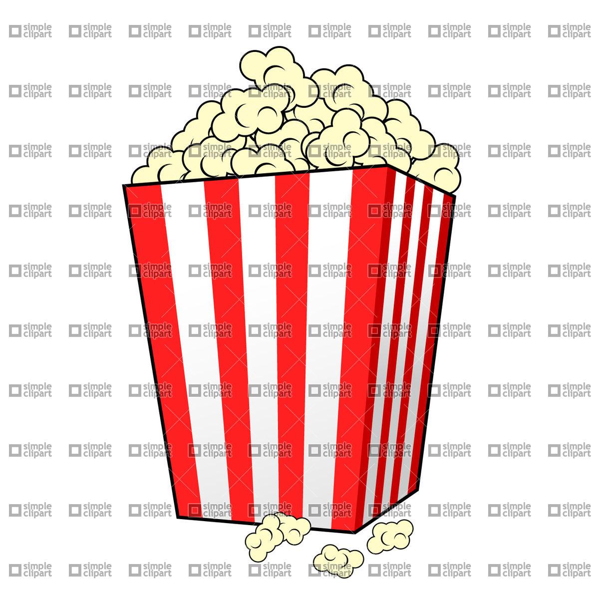 Popcorn Vector Free