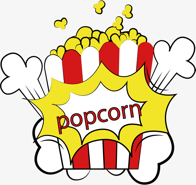 650x612 Popcorn Popcorn, Vector Png, Popcorn, Promotion Png And Vector For