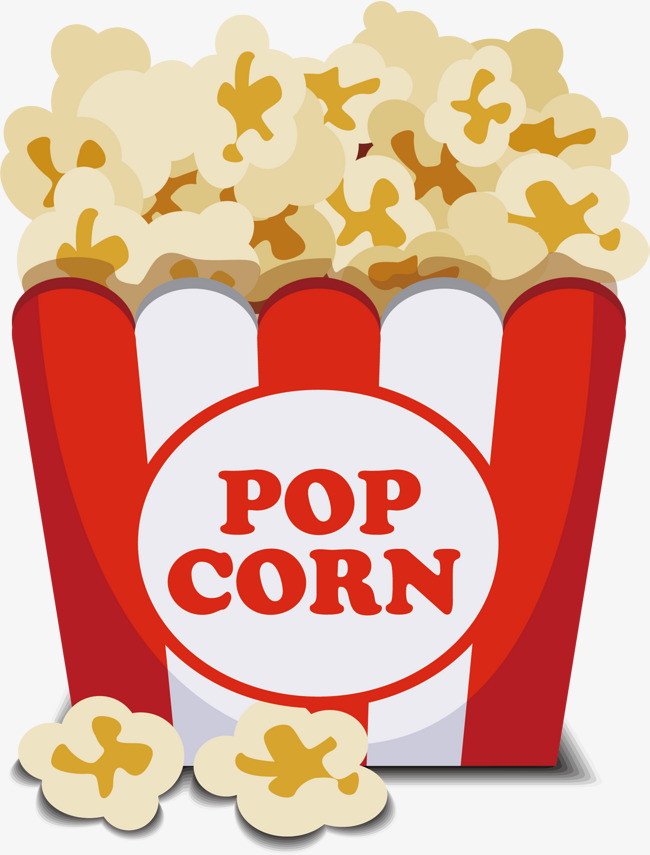 650x855 Popcorn Png Vector Material, Popcorn Vector, Popcorn, Food Png And
