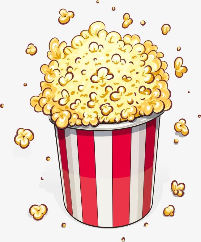 650x784 Vector Popcorn, Popcorn, Cartoon Popcorn, Food Png And Vector For