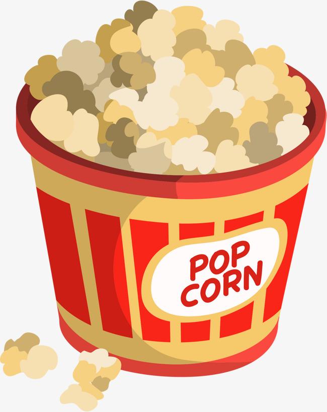 650x819 Cartoon Cinema Popcorn, Cartoon Vector, Popcorn Vector, Film
