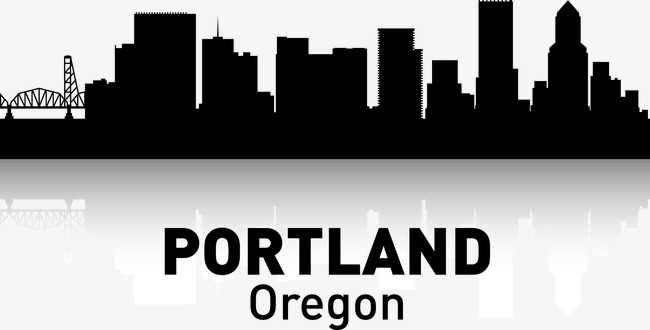 650x330 Portland, City Silhouette, City, City Png And Vector For Free Download