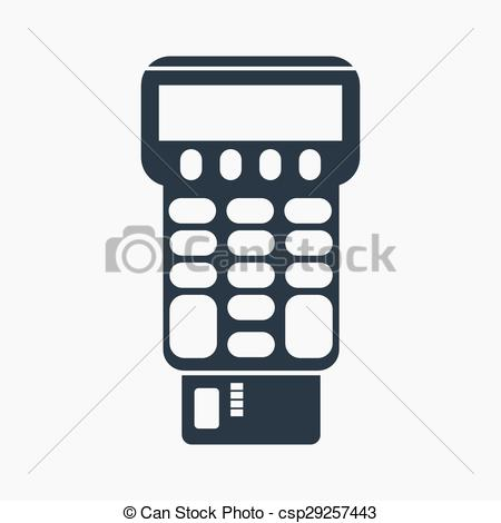 450x470 Vector Illustration Of Pos . Vector Illustration Of Credit Card