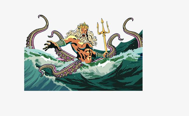 650x400 Vector Western Mythology, Poseidon, Zeus, Western Mythology Png