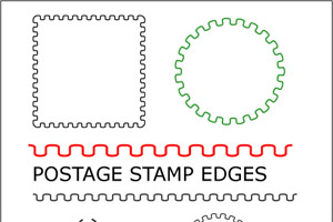 Postage Stamp Vector Free at GetDrawings com | Free for