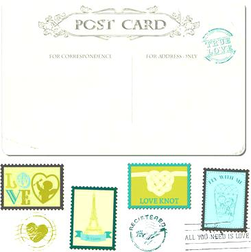 366x368 Postage Stamp Template Free Vector Verbe.co
