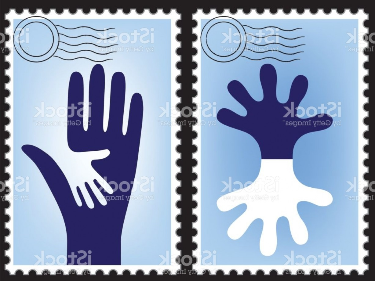 1228x921 Postage Stamp Vector Post Card Blank Post Postcard Mail Border