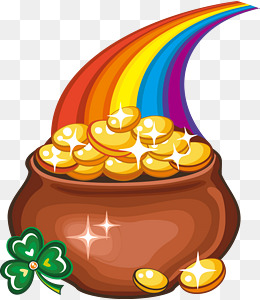 260x300 Pot Of Gold Png Images Vectors And Psd Files Free Download On