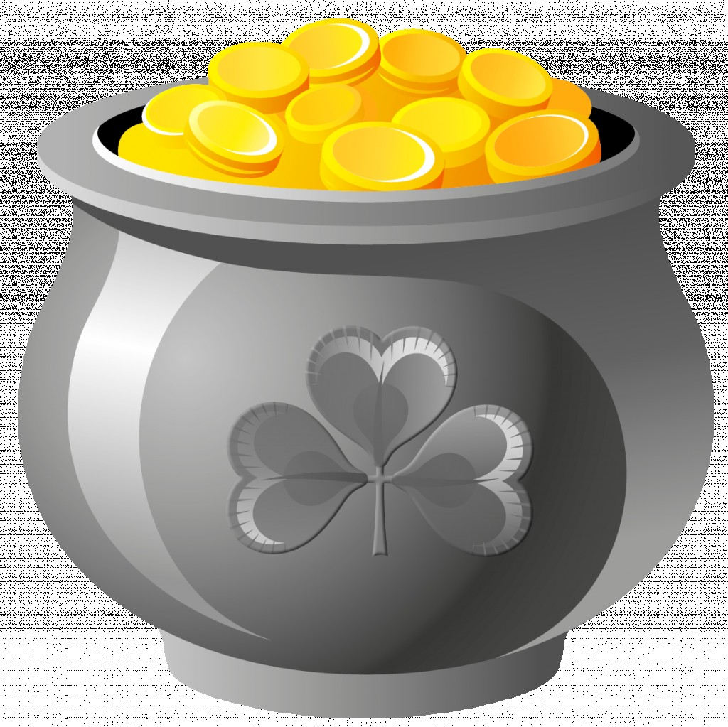 1024x1023 Golden Pot Vector With Gold Clip Art Csp25899161 Pots Of Clipart
