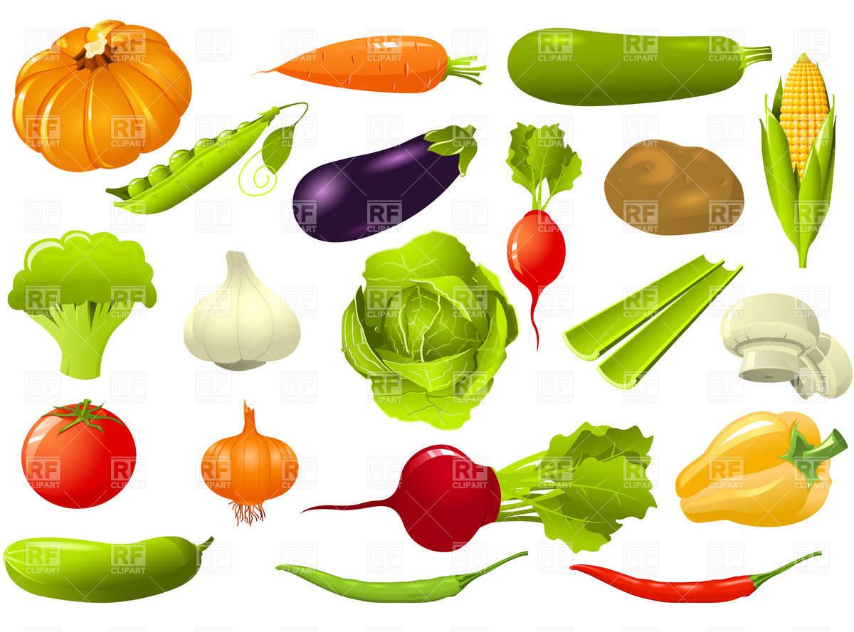 1200x888 Vegetables Set