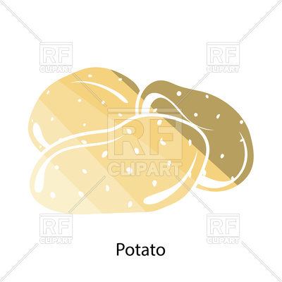 400x400 Icon Of Potato Vector Image Vector Artwork Of Food And Beverages