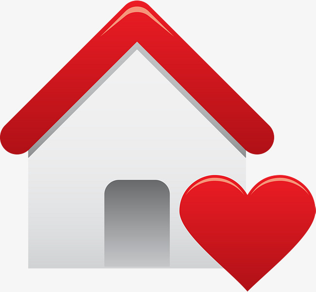 650x601 White Cartoon Love House, White, Love, Hut Png And Vector, House