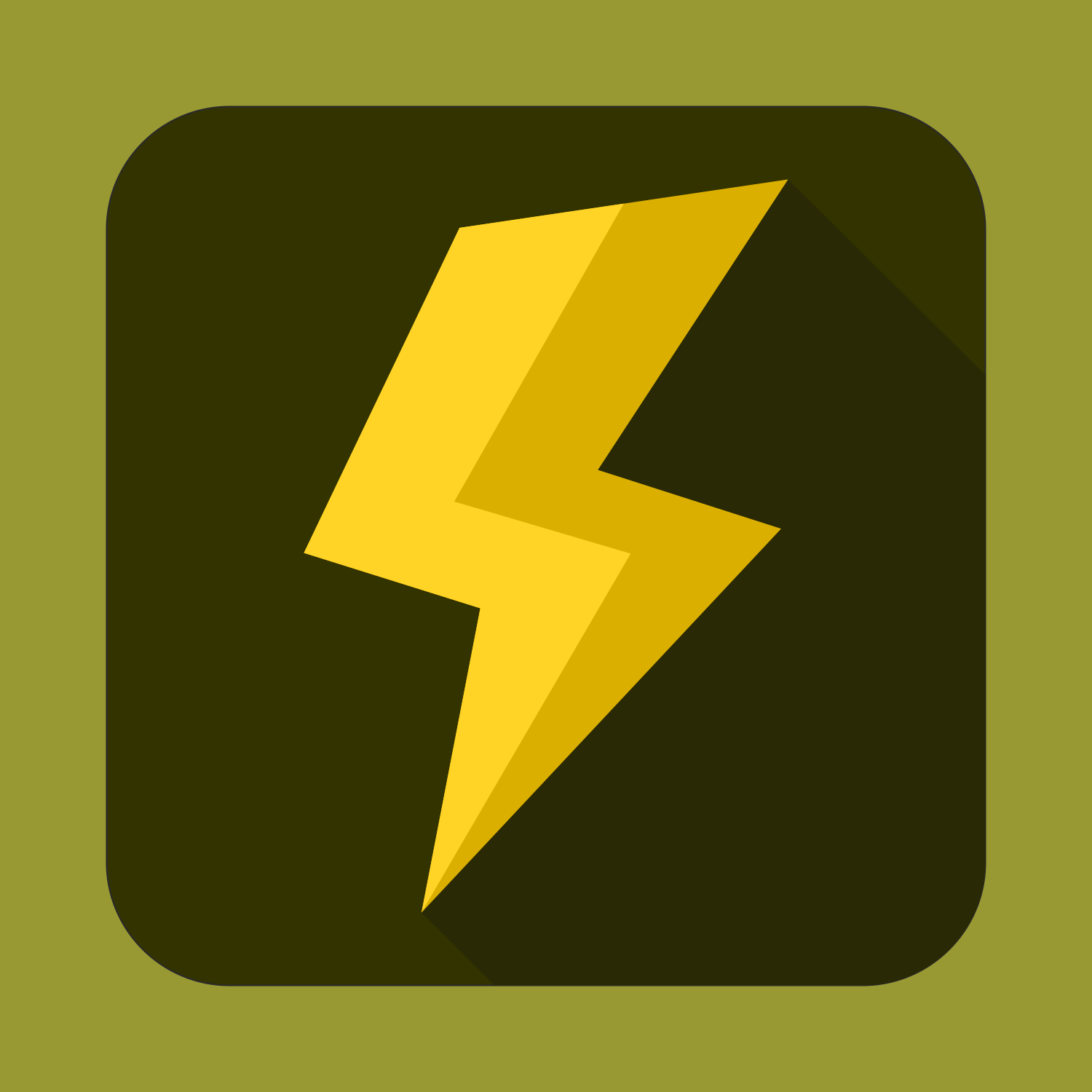 1500x1500 Vector For Free Use Flat Power Icon