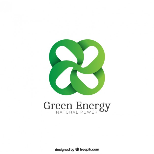626x626 Green Energy Logo Vector Free Download