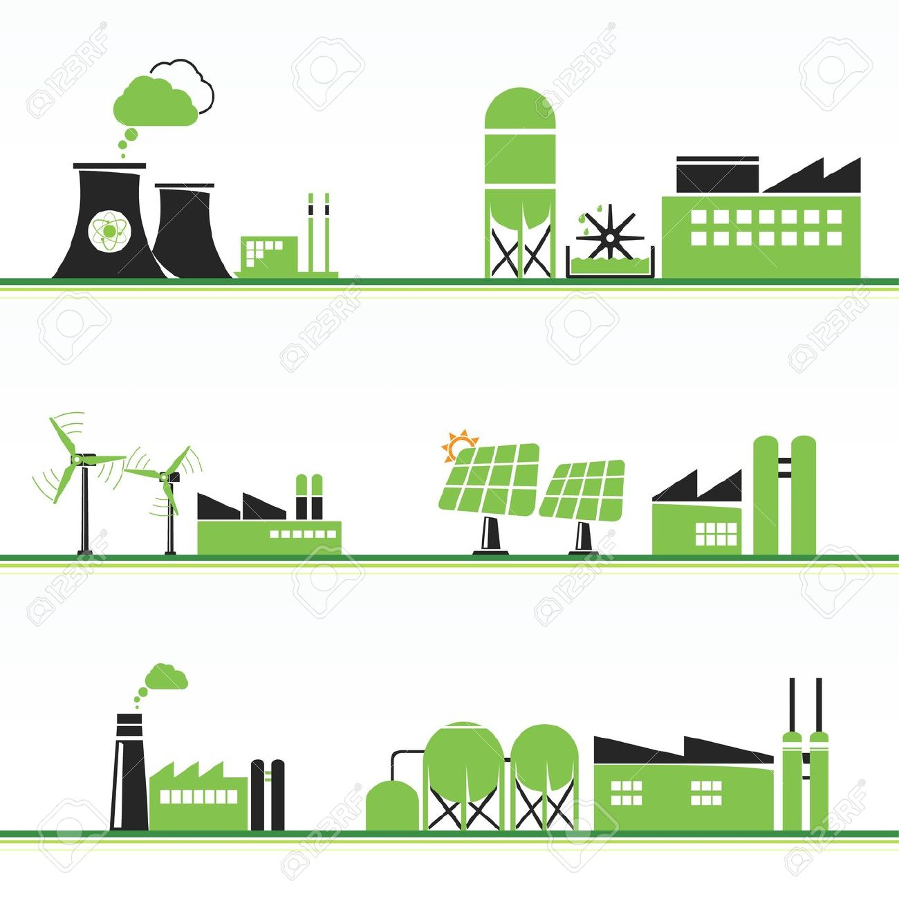 Power Plant Vector at GetDrawings | Free download