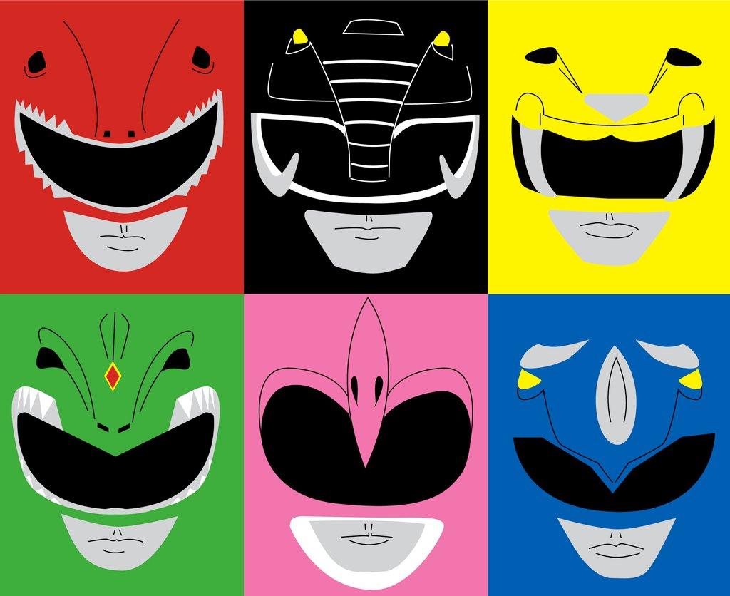 1024x836 Power Rangers Pop By Sedani