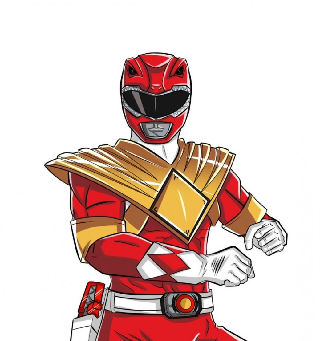 1039x1107 Power Rangers Logo Vector Geekchicpro