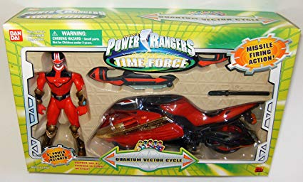 425x256 Power Rangers Time Force Quantum Vector Cycle Toys
