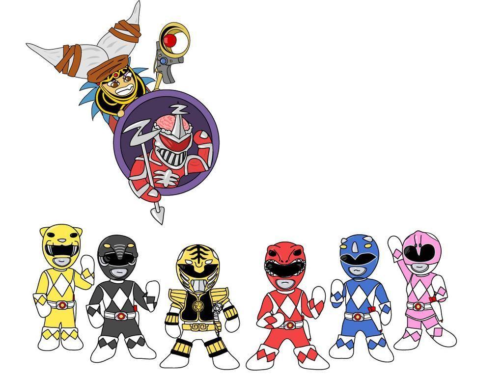 1024x768 Chibi Power Rangers Books, Movies Amp Nerdy Things