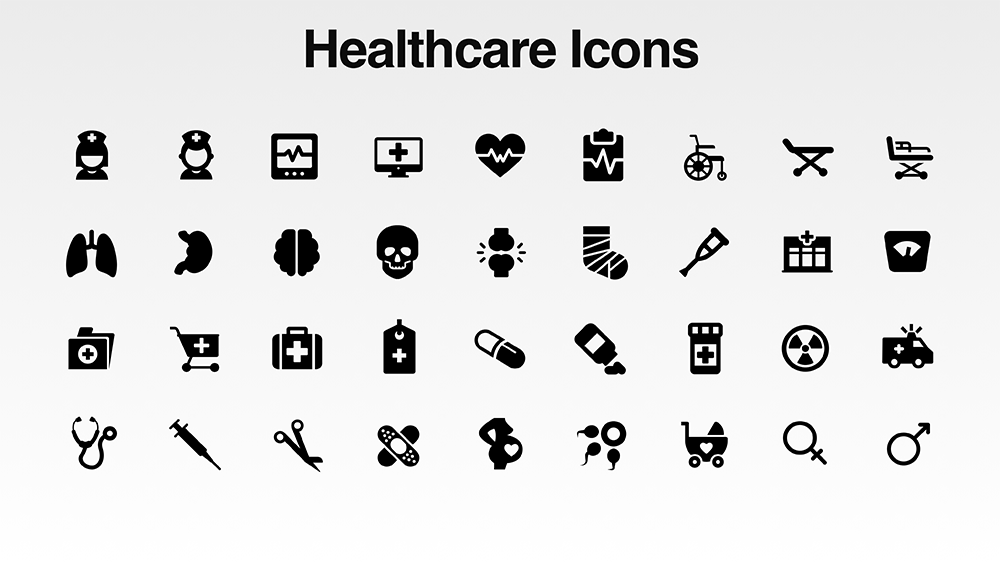 1000x563 Download Free Vector Icon Pack For Presentations