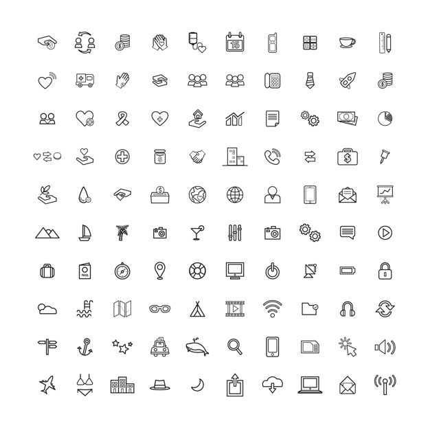 626x626 Free Vector Icons