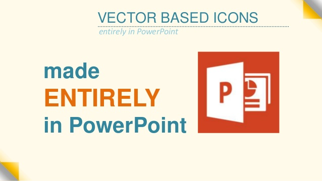 638x359 Making Vector Icons Entirely In Powerpoint