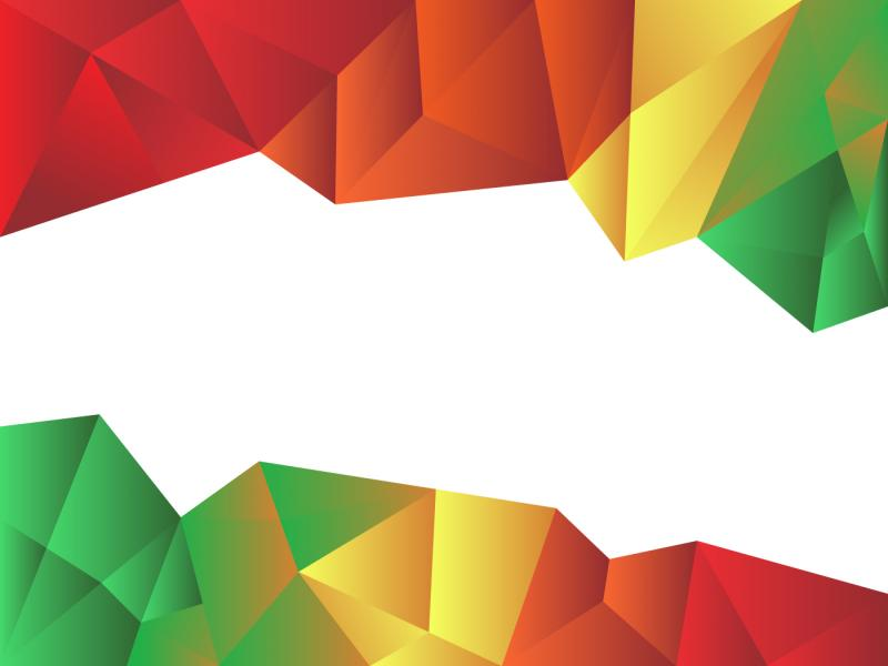 800x600 Colorful Low Poly Vector Graphic Backgrounds For Powerpoint