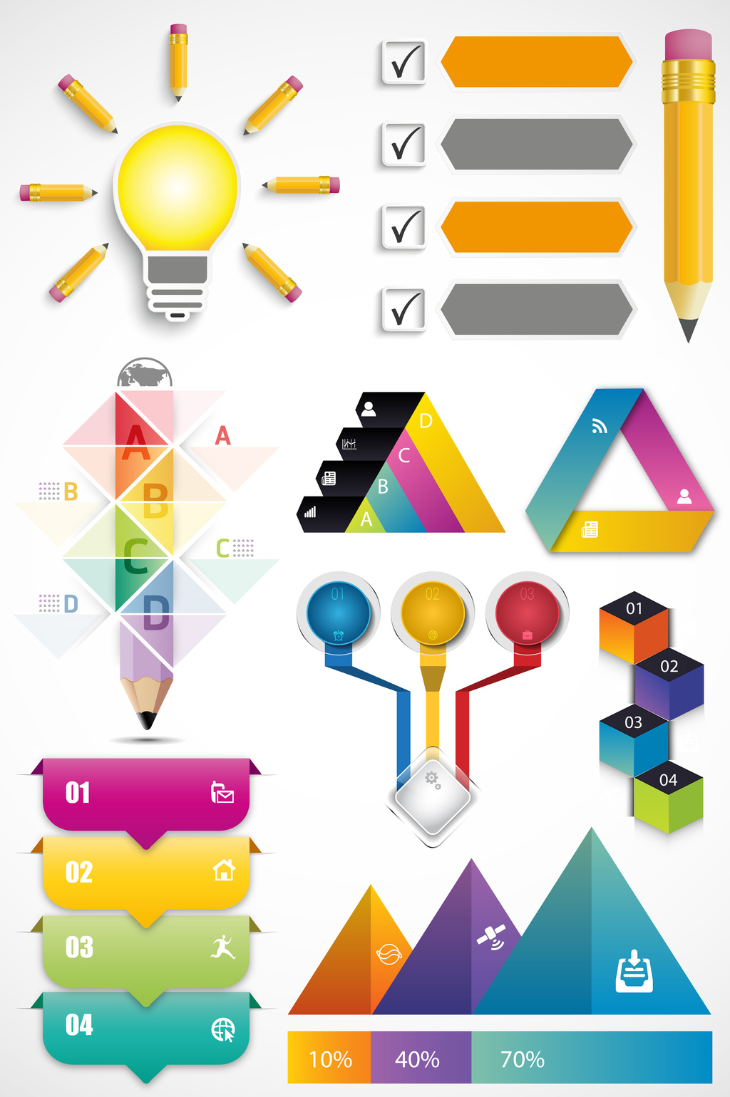 1024x1540 Education Data Ppt Vector Graphics Free Download Pikbest