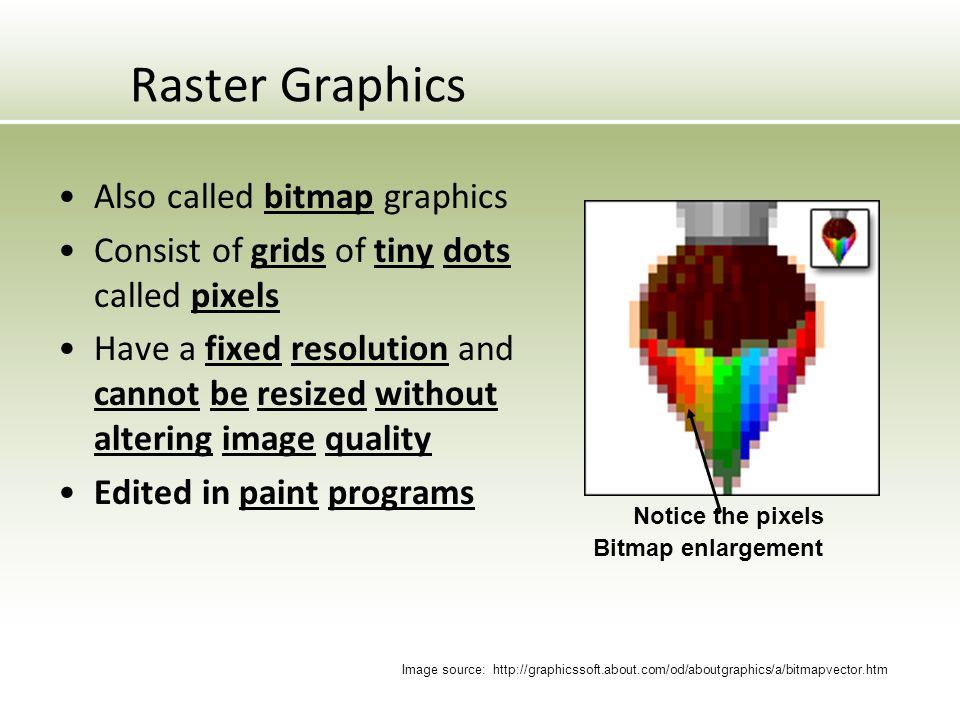 960x720 Raster Graphics 2 01 Investigate Graphic Image Design Ppt Vector