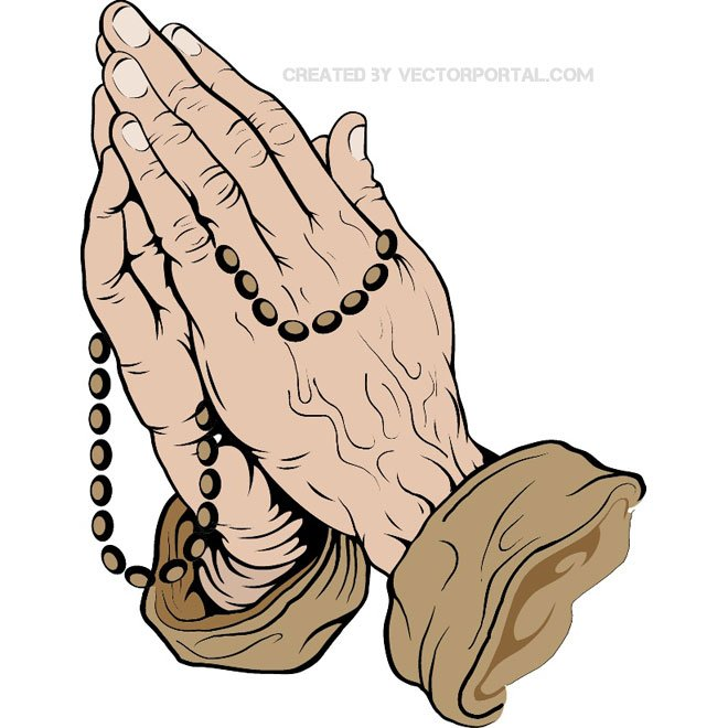 660x660 Free Praying Hands Vector.eps Psd Files, Vectors Amp Graphics