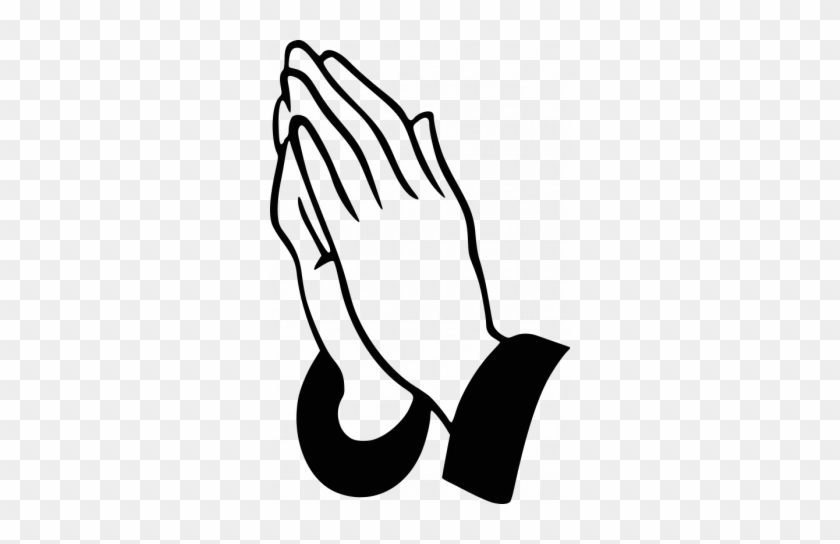 840x544 Praying Hands Vector Image