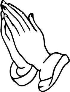 236x313 Praying Hands Vector Image Digi Stamps Line Drawings