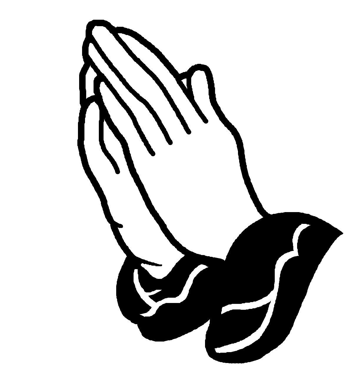 Praying Hands Vector Art Free