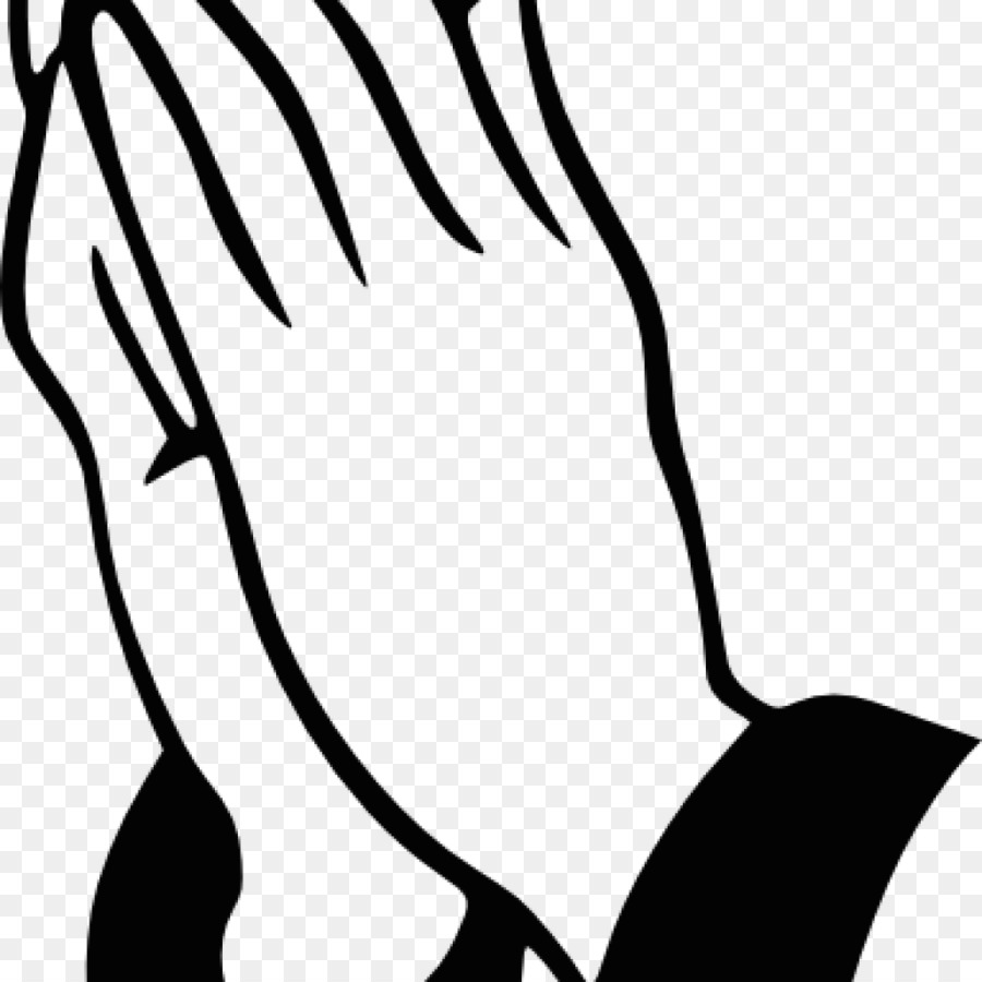 900x900 Praying Hands Clip Art Drawing Image Vector Graphics