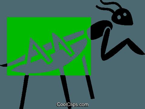 480x361 Praying Mantis Royalty Free Vector Clip Art Illustration Vc038999