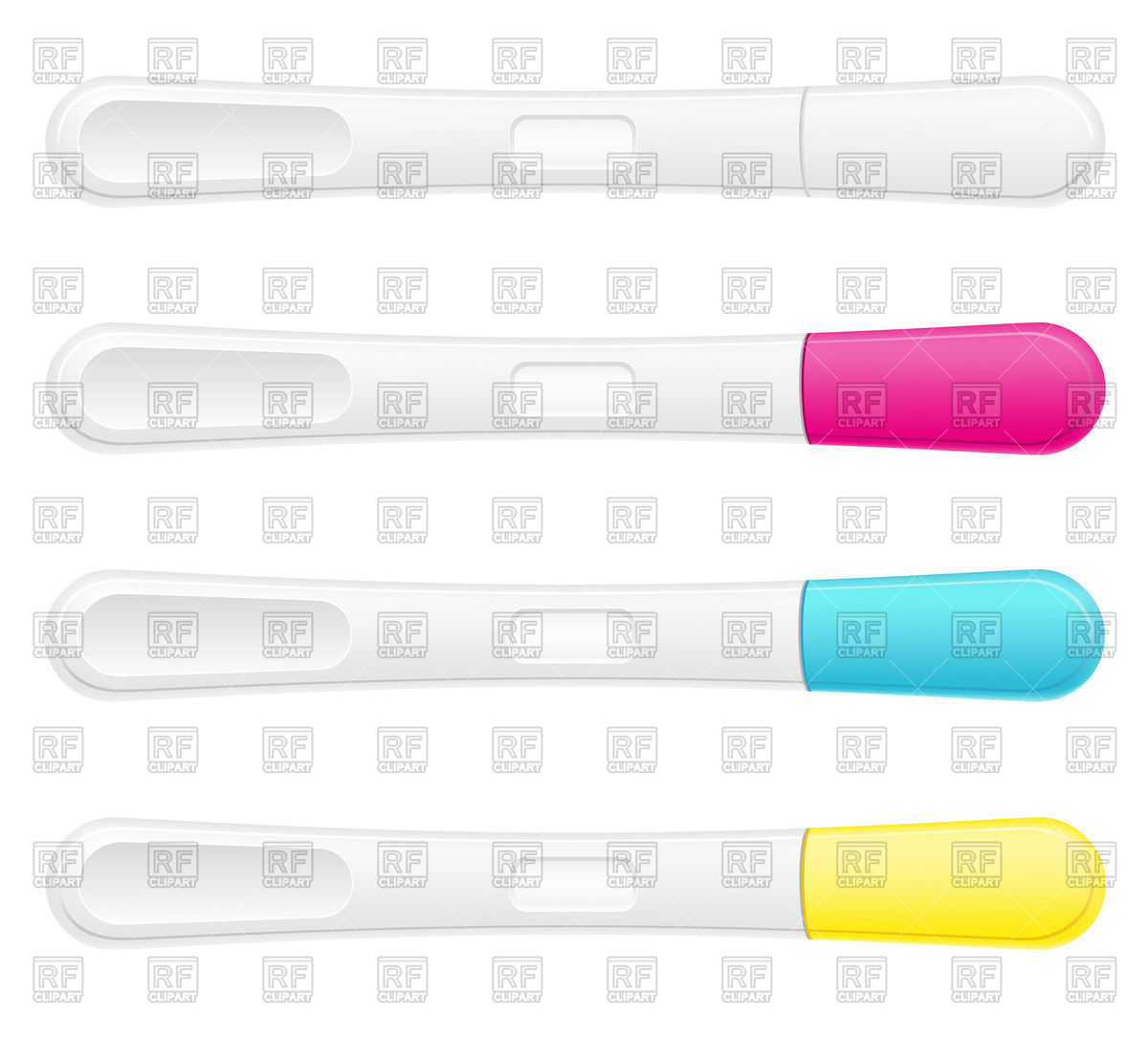 1200x1086 Pregnancy Test Set Vector Image Vector Artwork Of Healthcare