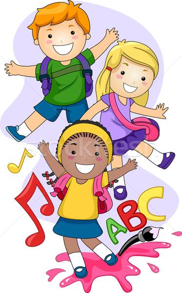 373x600 Preschool Kids Vector Illustration Lenm ( 1170196) Stockfresh