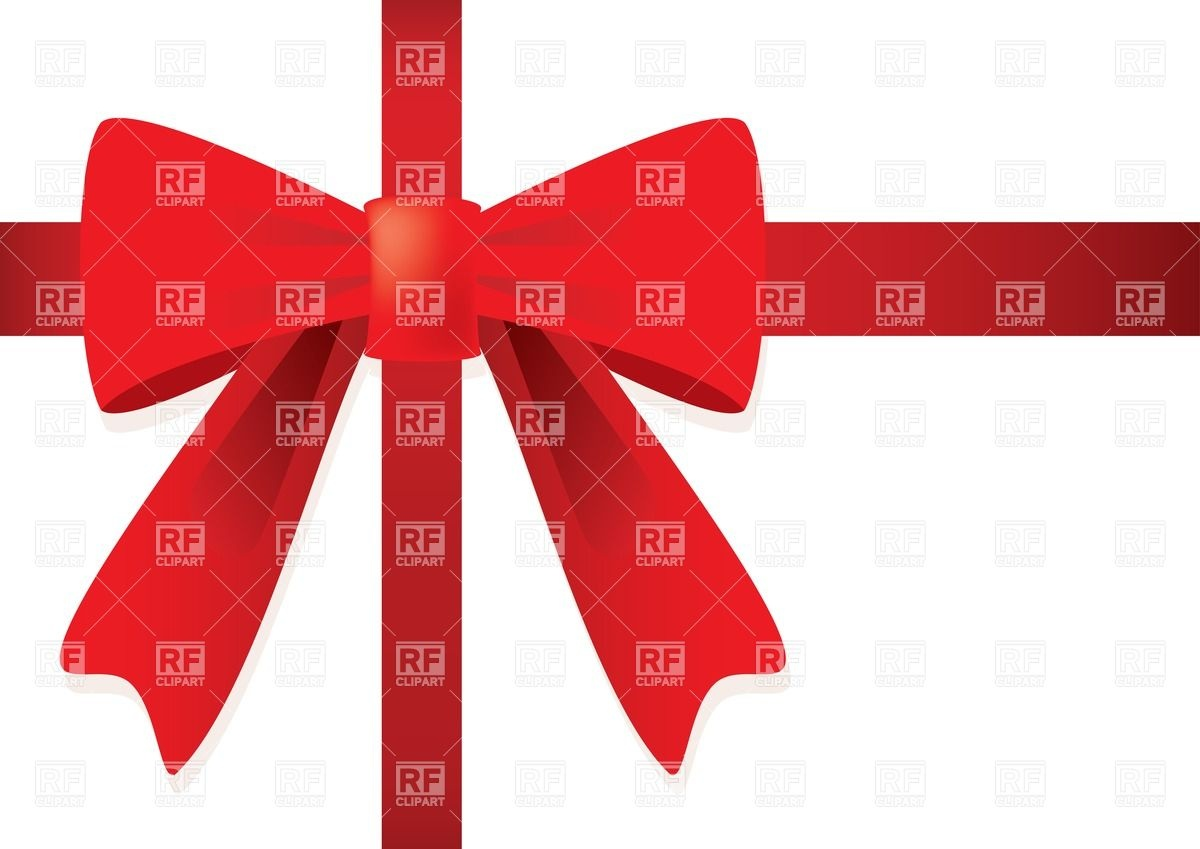 1200x849 Red Gift Bow Vector Image Vector Artwork Of Design Elements